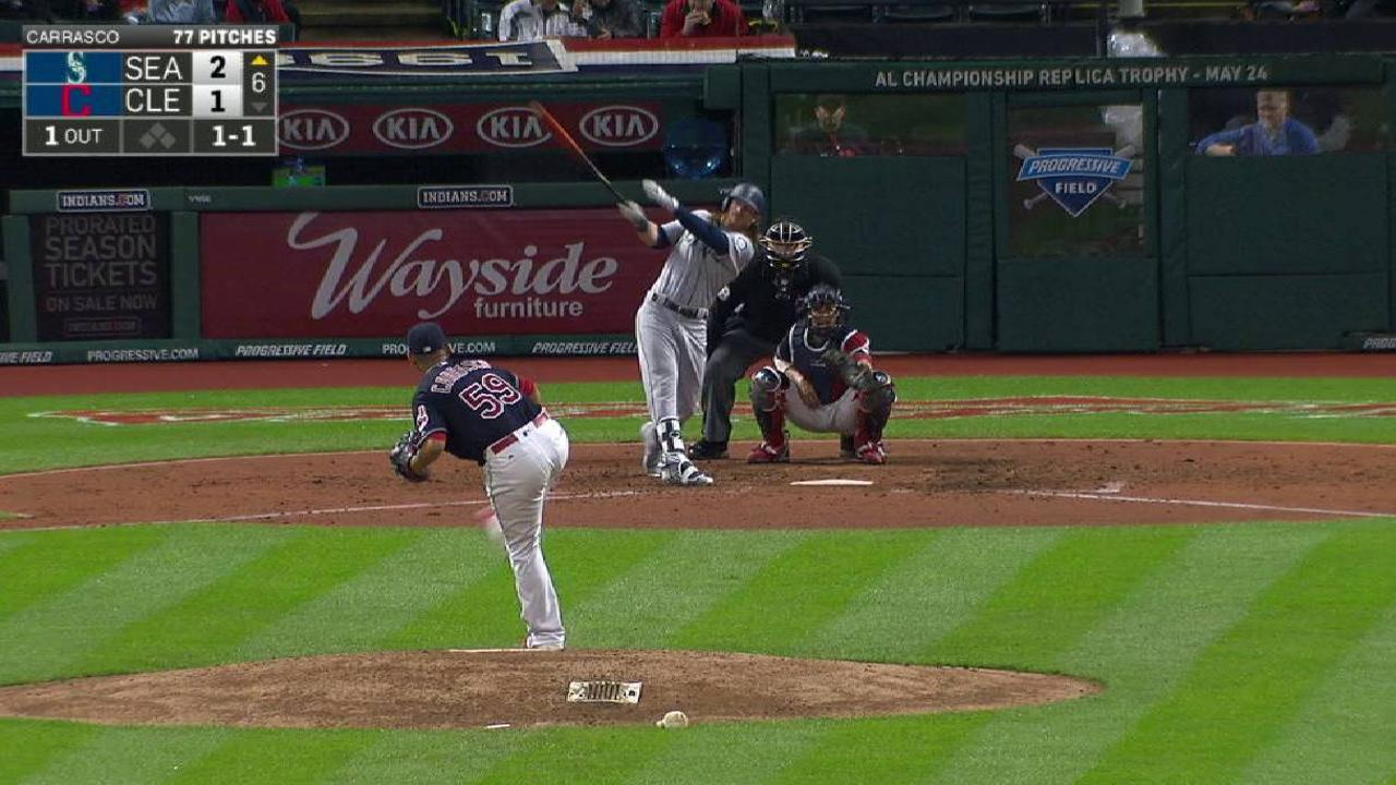 d133c6d9239 Robinson Cano leads Mariners over Indians