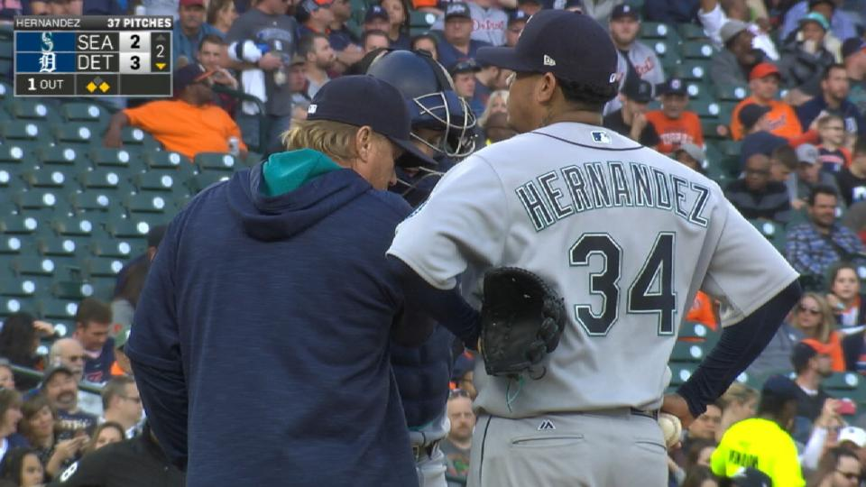 Update on Hernandez's DL stint