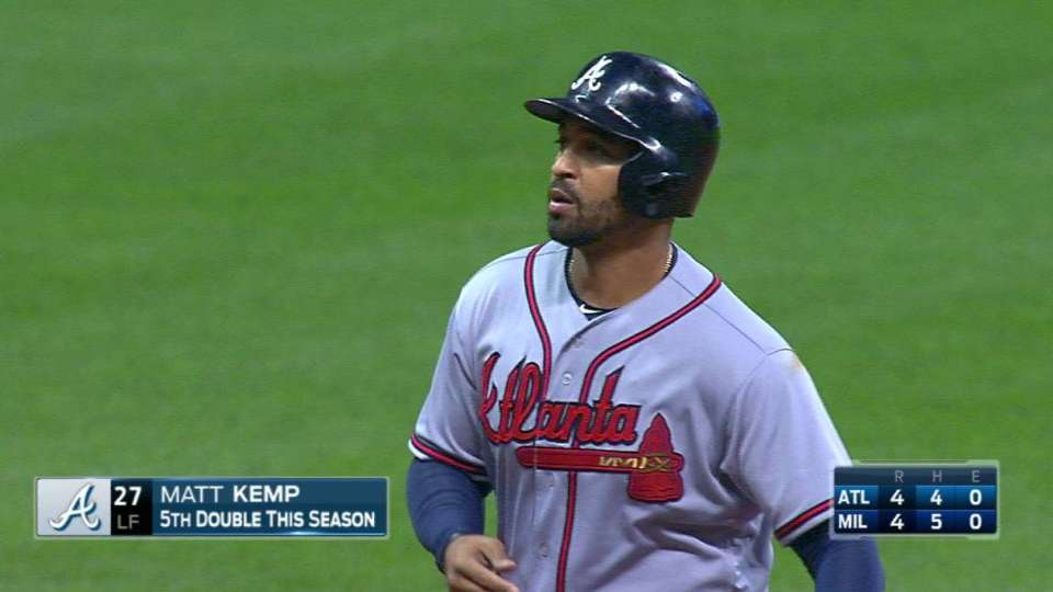 Kemp's bases-clearing double