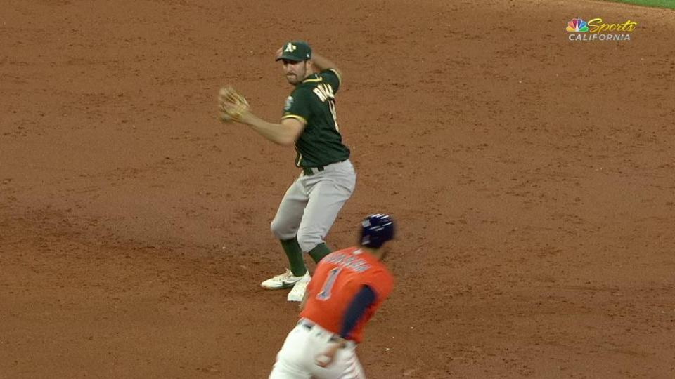 Alonso starts 3-6-3 double play