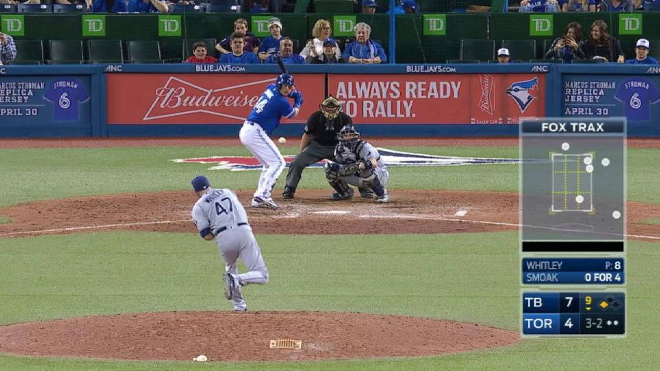 Whitley K's Smoak for first save