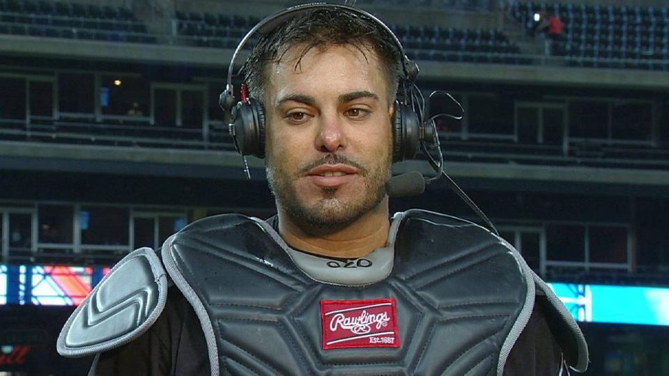 Soto on his game-winning hit
