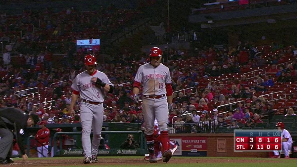Votto's two-run homer