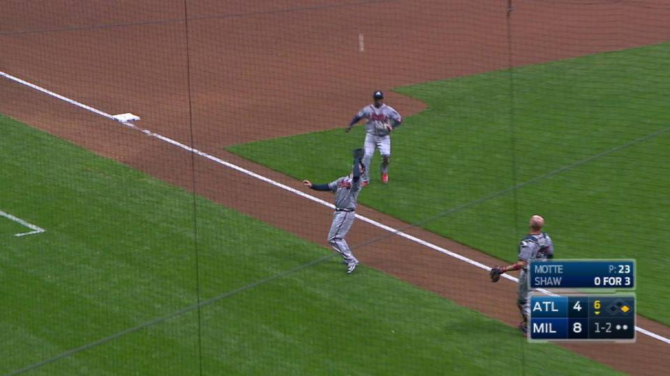Motte induces popup for out