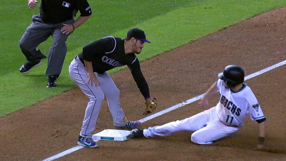 D-backs complete double steal
