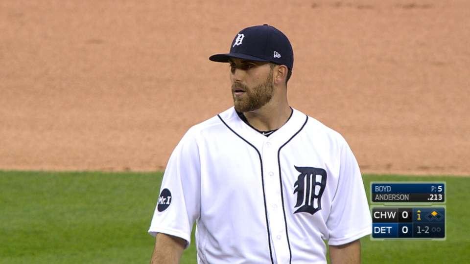 Boyd's K's five vs. White Sox