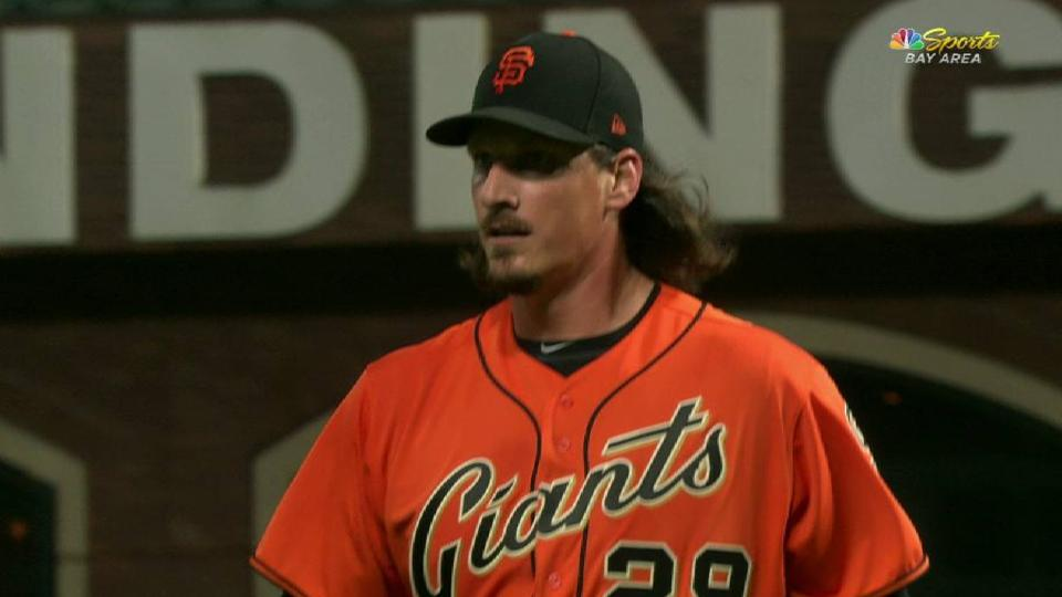 Samardzija gets out of trouble