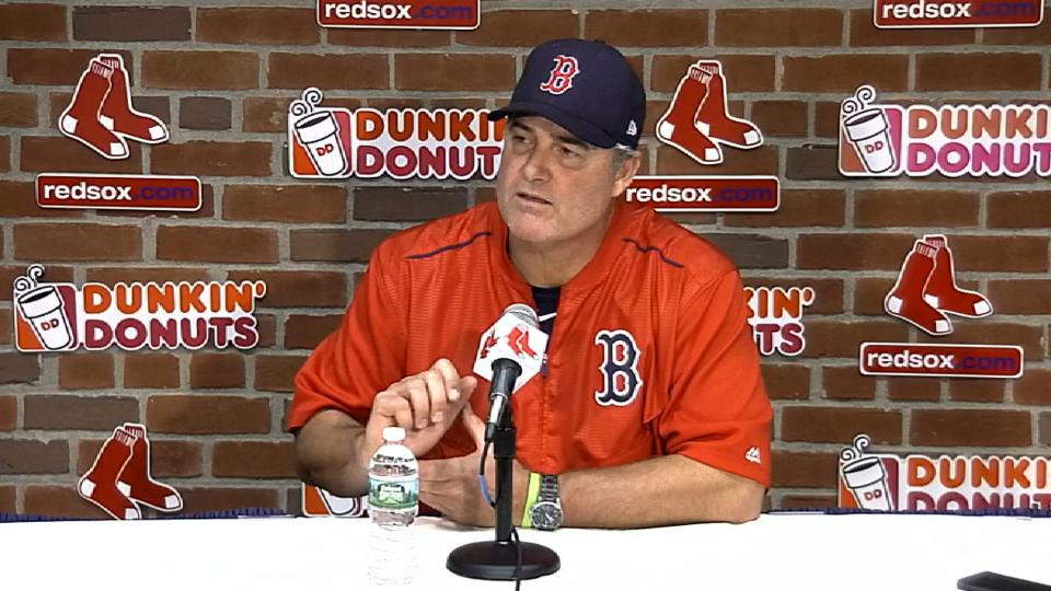 Farrell on 5-4 win over Cubs