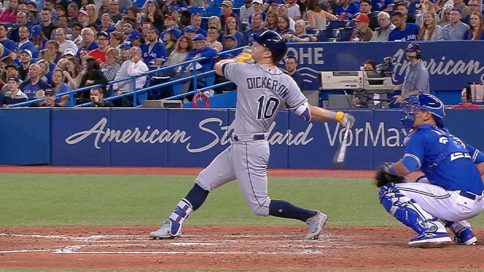 Rays hit three homers in the 8th