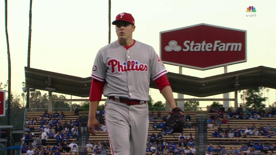 Eickhoff strikes out Gonzalez