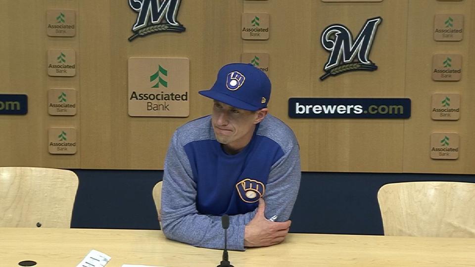 Counsell on blown lead