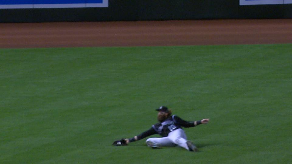 Blackmon's great sliding catch