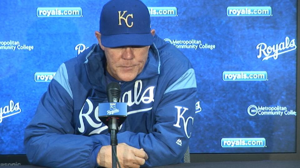 Yost on loss to Twins