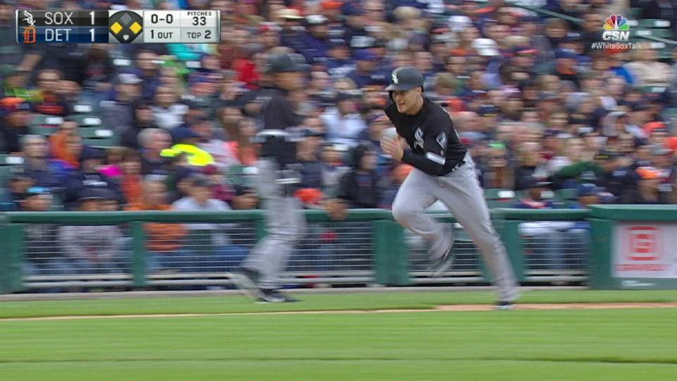 Garcia's sac fly in the 2nd