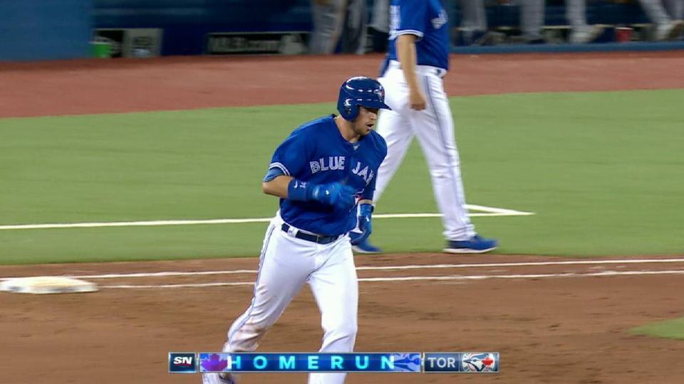 Smoak's two-run home run