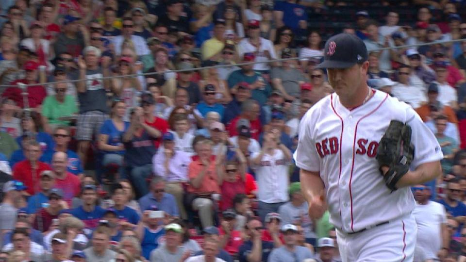 Wright gets Zobrist looking