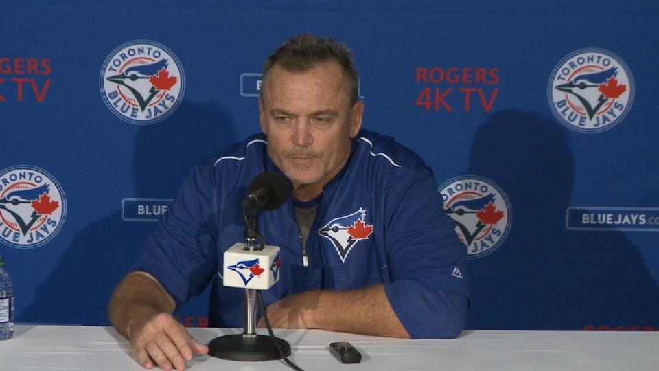 Gibbons on relief pitching