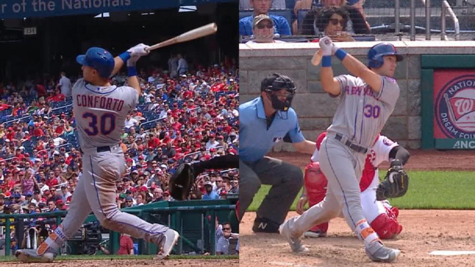 Conforto crushes two home runs