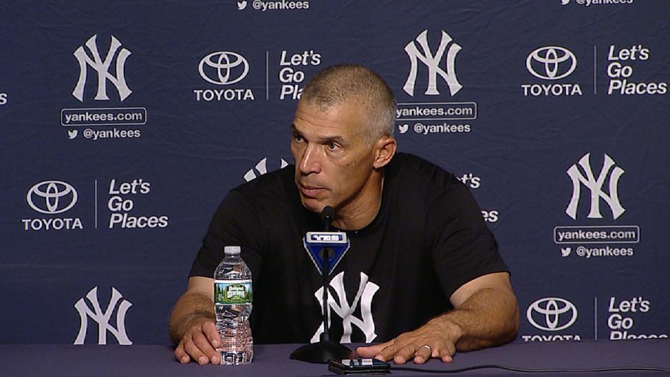 Girardi talks Yanks' big win