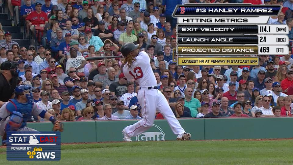 Statcast: Hanley's 469-foot shot