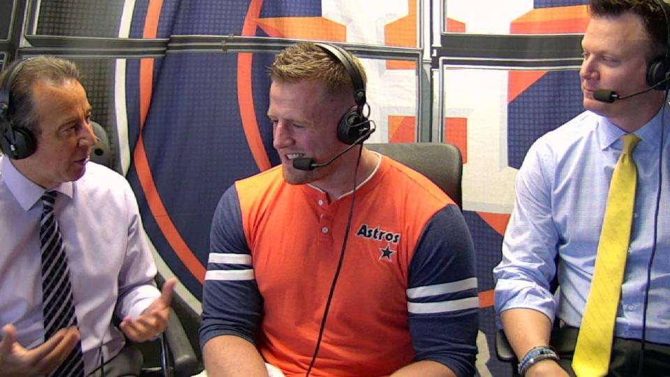 J.J. Watt joins the booth