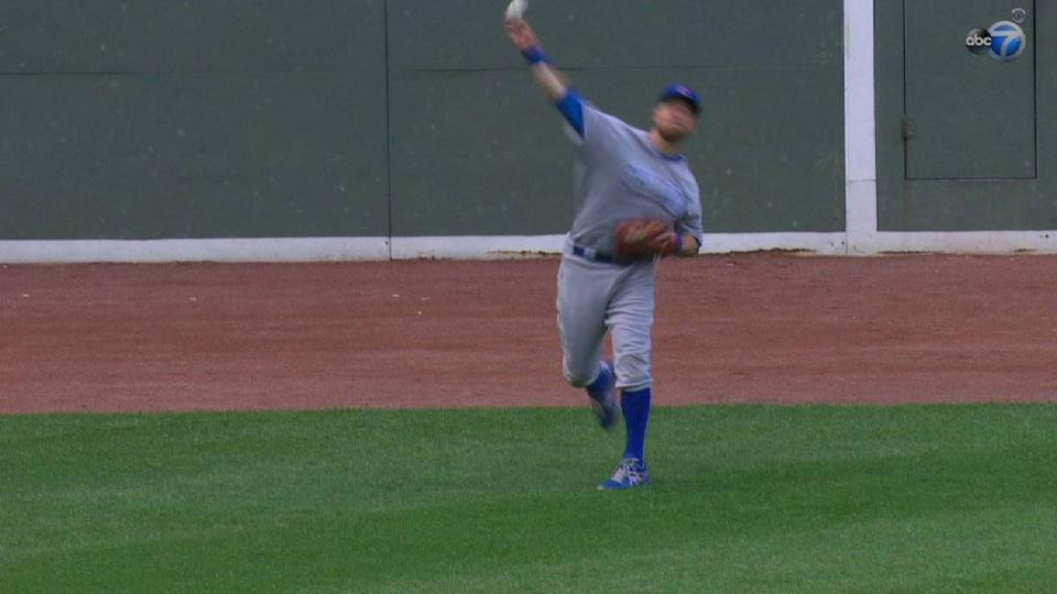 Zobrist holds Betts to a single