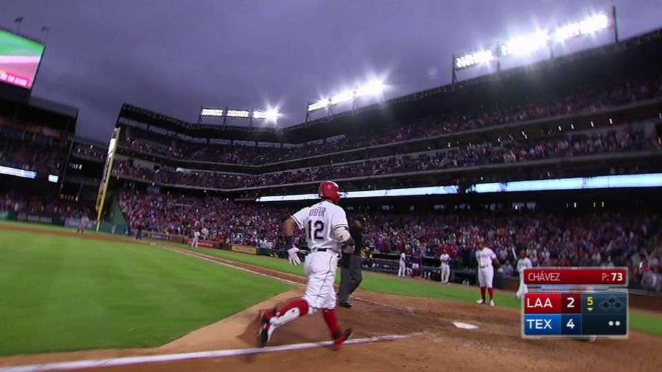 Odor's two-run home run