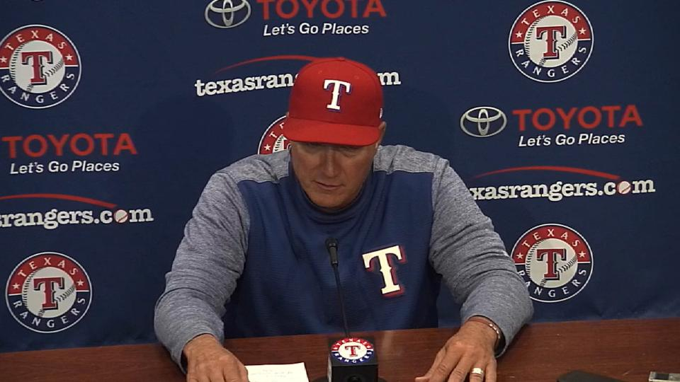 Banister on 6-3 win over Angels