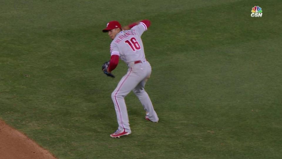 Hernandez's magnificent play