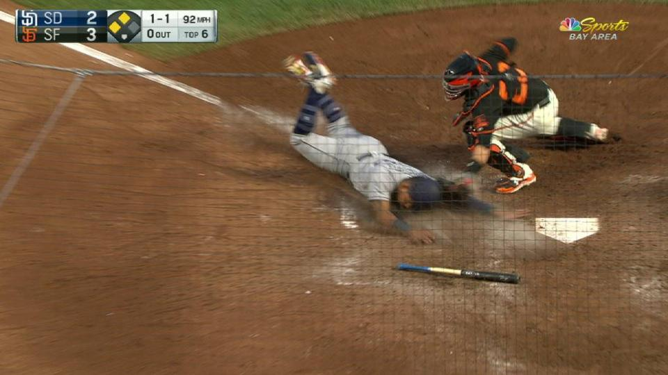 Gillaspie nabs Solarte at home