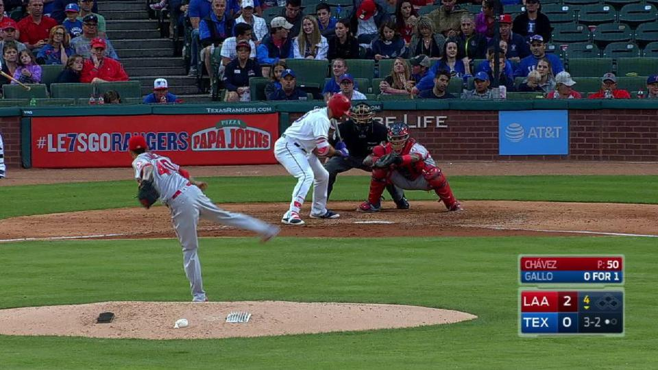 Chavez gets Gallo looking