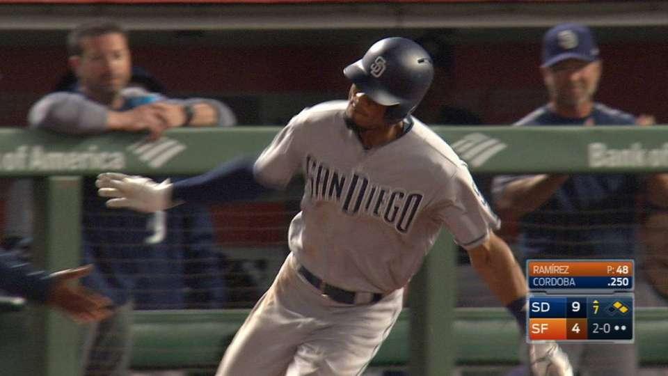 Cordoba's three-run home run