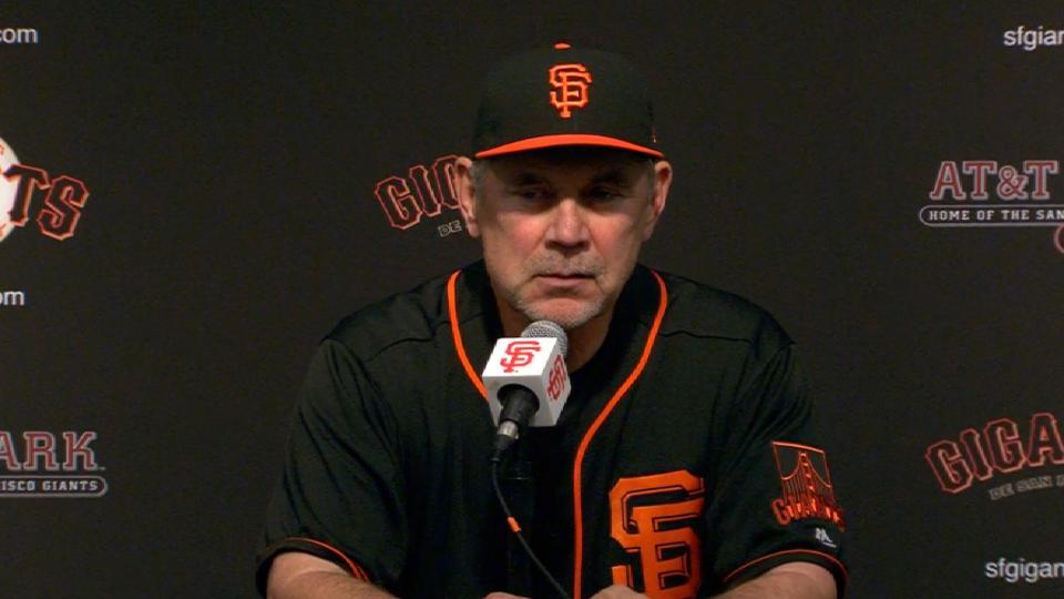 Bochy on loss to Padres