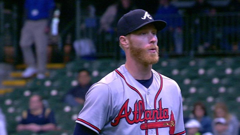 Foltynewicz strikes out the side