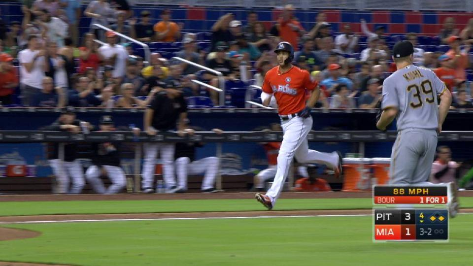 Bour's second RBI of the game