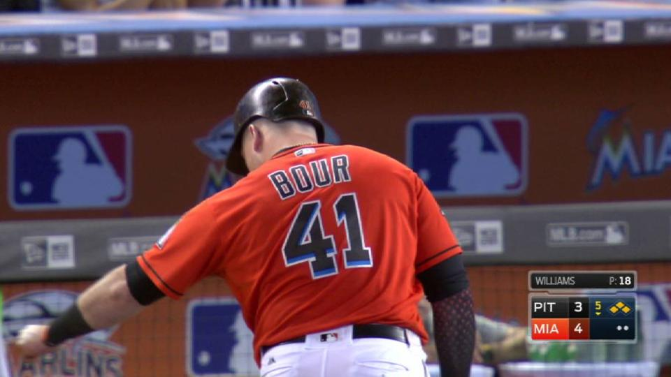 Bour's two-run single