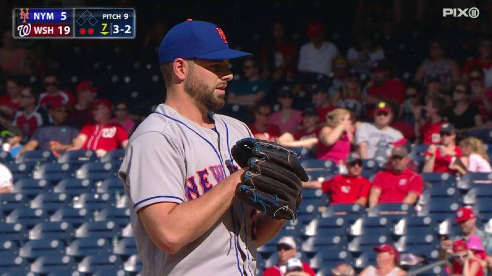 Plawecki pitches in the 7th