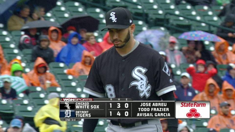 Gonzalez strikes out Martinez