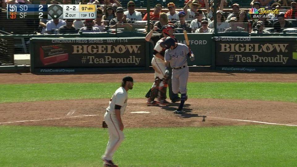 Strickland strikes out Torrens