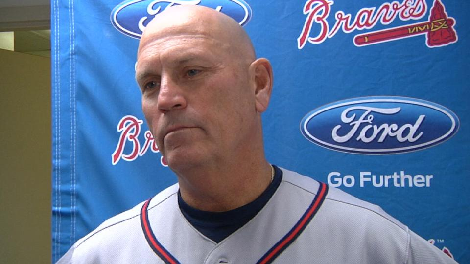 Snitker on 4-3 loss to Brewers
