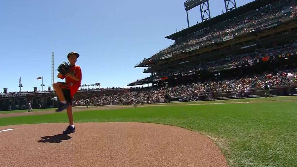 See's Candies' First Pitch