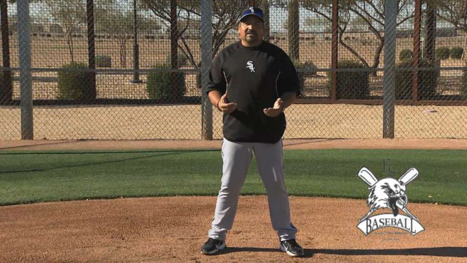 Mark Salas gives catching tips