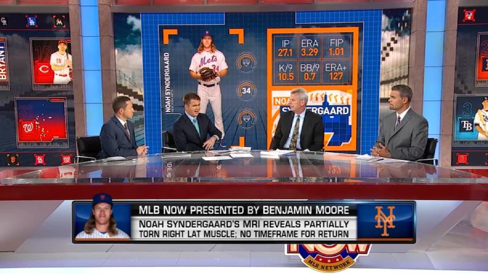 MLB Now on Syndergaard's injury
