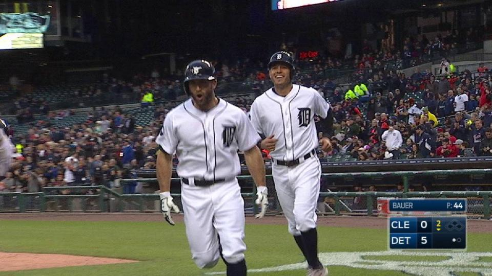 Collins' three-run home run