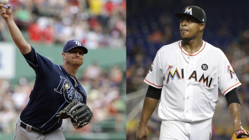 Cobb vs. Volquez