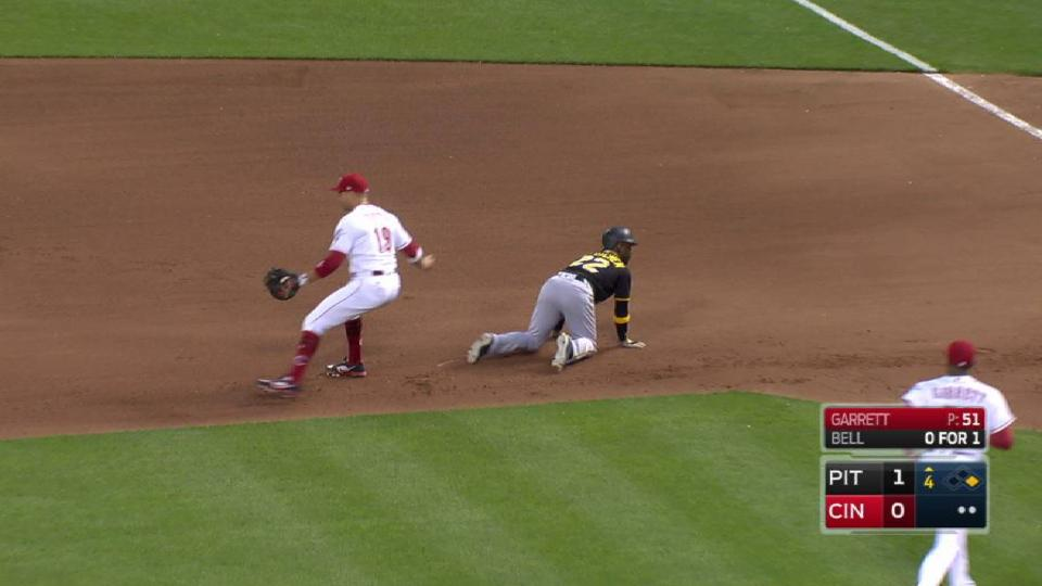 Garrett picks off Cutch