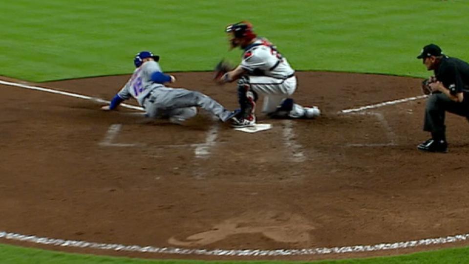 Mets' five-run 4th inning