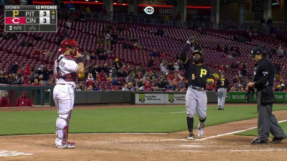 Harrison's second solo home run