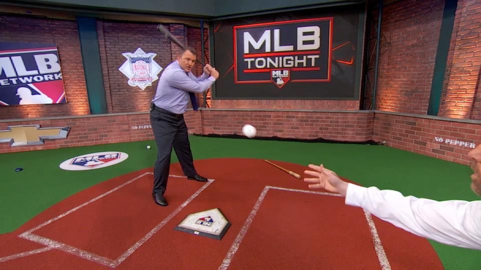 MLB Tonight demos bat speed