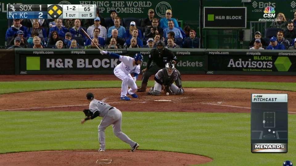 Covey gets Hosmer swinging